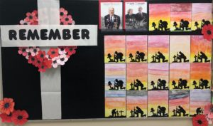 Gr 6&7's lead the school in Virtual Remembrance Day Assembly
